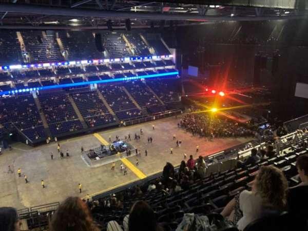 The O2 Arena, secção: 417, fila: Q, lugar: 859