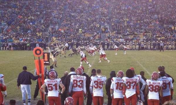 Notre Dame Stadium, secção: 10, fila: D, lugar: 16