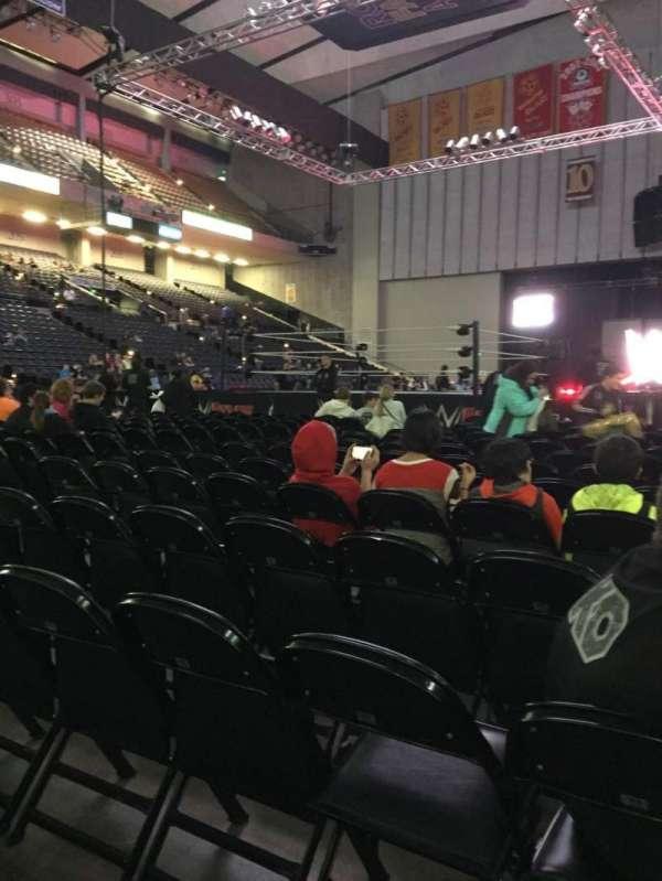 Royal Farms Arena, secção: FLR-4, fila: N, lugar: 5