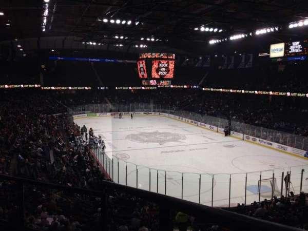 Allstate Arena, secção: 208, fila: C, lugar: 1