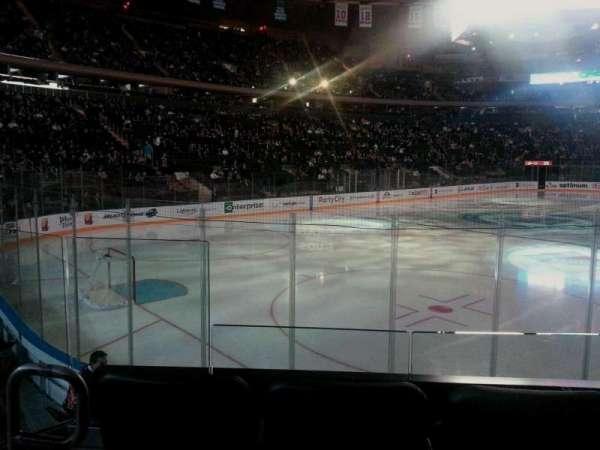Madison Square Garden, secção: 104, fila: 7, lugar: 3