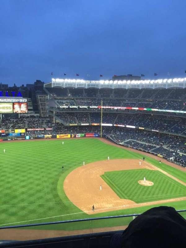 Yankee Stadium, secção: 426, fila: 3, lugar: 20