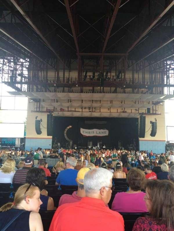 Riverbend Music Center, secção: 800, fila: OO, lugar: 822