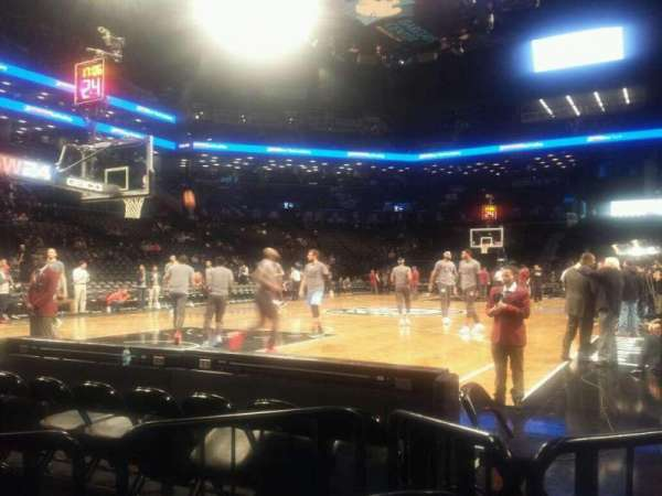Barclays Center, secção: 13, fila: E, lugar: 11