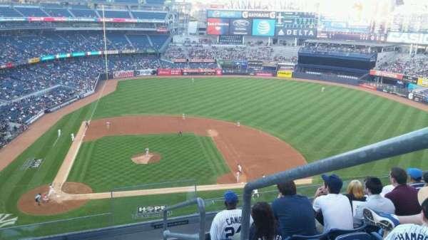 Yankee Stadium, secção: 317, fila: 6, lugar: 1