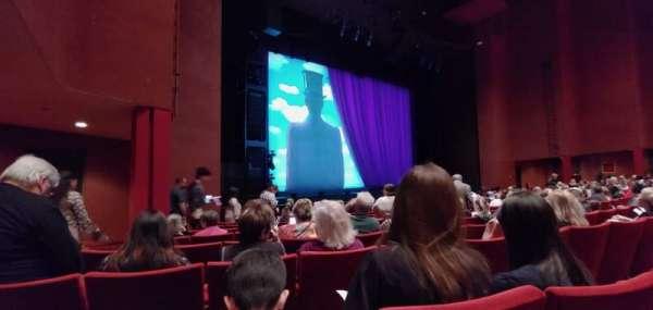 San Diego Civic Theatre, secção: Orchestra, fila: H, lugar: 51