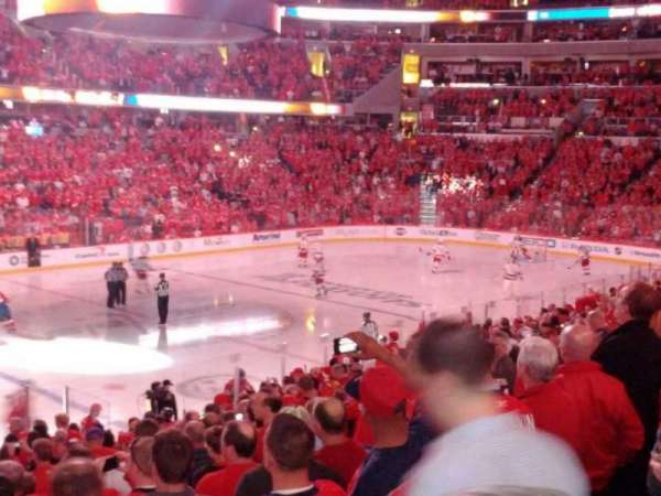 Capital One Arena, secção: 120, fila: S, lugar: 18