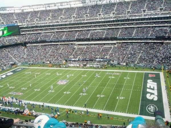 MetLife Stadium, secção: 335, fila: 4, lugar: 10