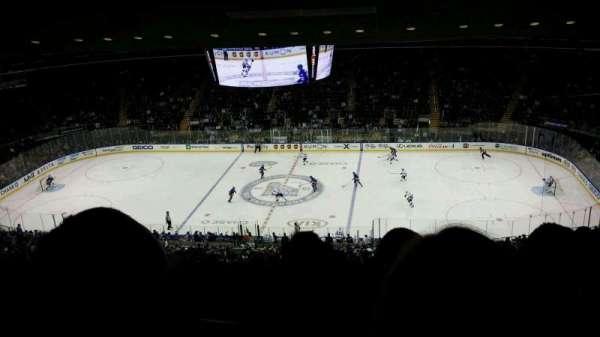 Madison Square Garden, secção: 212, fila: 16, lugar: 20