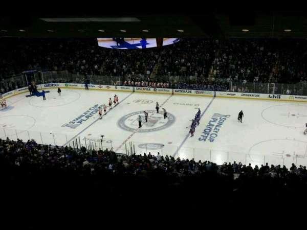 Madison Square Garden, secção: 226, fila: 10, lugar: 19