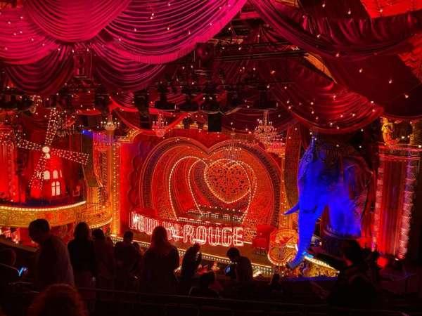 Al Hirschfeld Theatre, secção: Mezzanine R, fila: K, lugar: 14