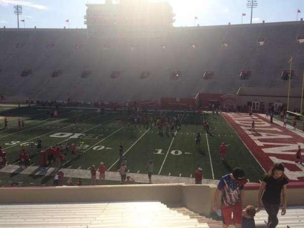 Memorial Stadium (Indiana), secção: 23, fila: 24, lugar: 3