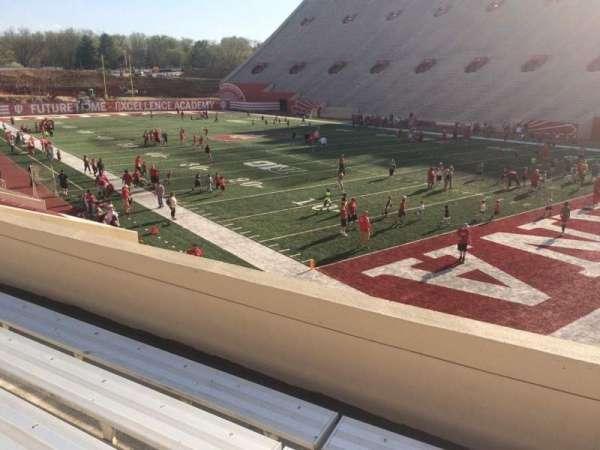 Memorial Stadium (Indiana), secção: 21, fila: 24, lugar: 3