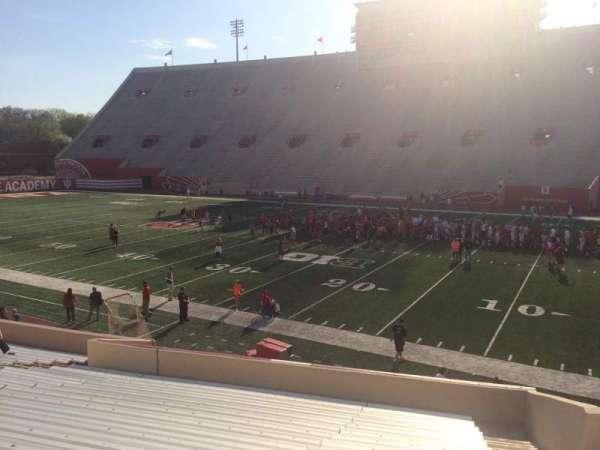 Memorial Stadium (Indiana), secção: 24, fila: 24, lugar: 3