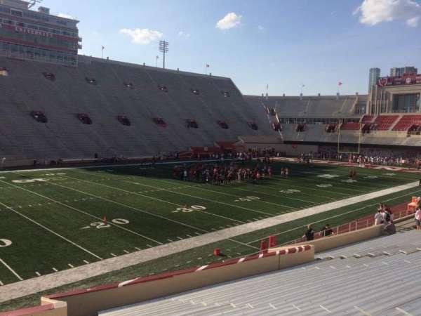 Memorial Stadium (Indiana), secção: 30, fila: 24, lugar: 103