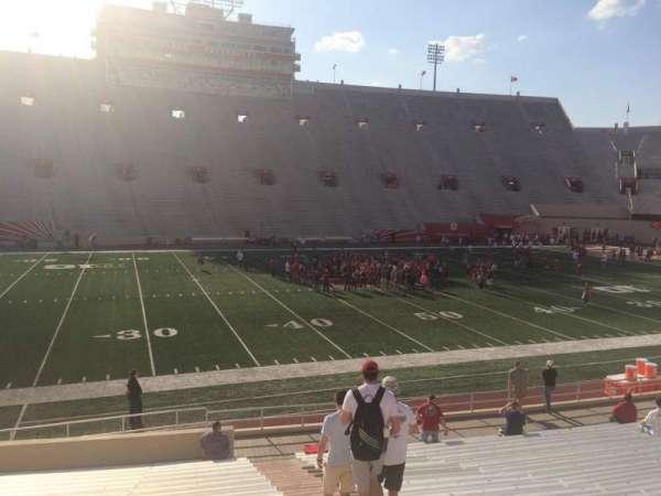Memorial Stadium (Indiana), secção: 27, fila: 24, lugar: 103