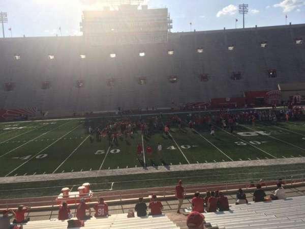 Memorial Stadium (Indiana), secção: 26, fila: 24, lugar: 103
