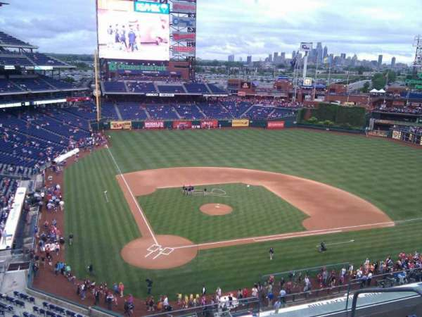 Citizens Bank Park, secção: 318, fila: 5, lugar: 4