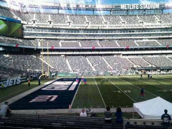 MetLife Stadium, secção: 143, fila: 14, lugar: 6