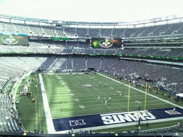 MetLife Stadium, secção: 204, fila: 12, lugar: 7