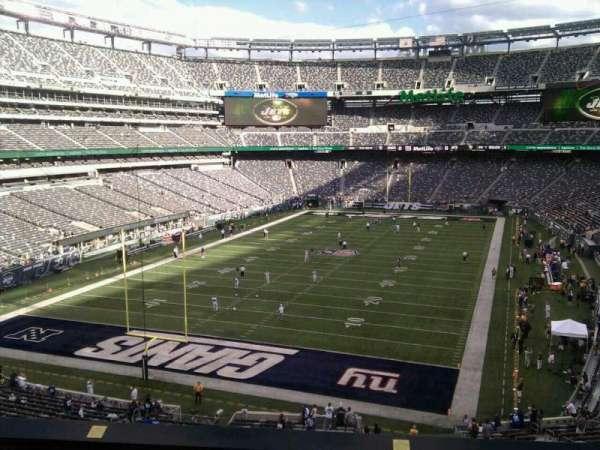 MetLife Stadium, secção: 248, fila: 6, lugar: 15