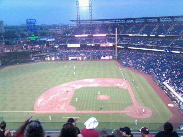 Citizens Bank Park, secção: 425, fila: 8, lugar: 16