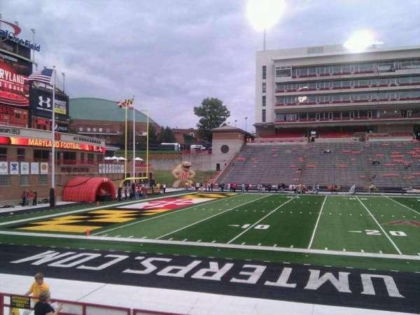 Maryland Stadium, secção: 3, fila: n, lugar: 17