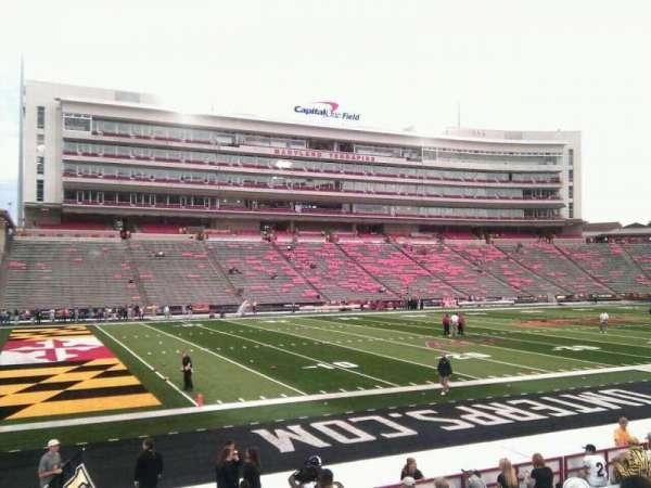 Maryland Stadium, secção: 2, fila: p, lugar: 11