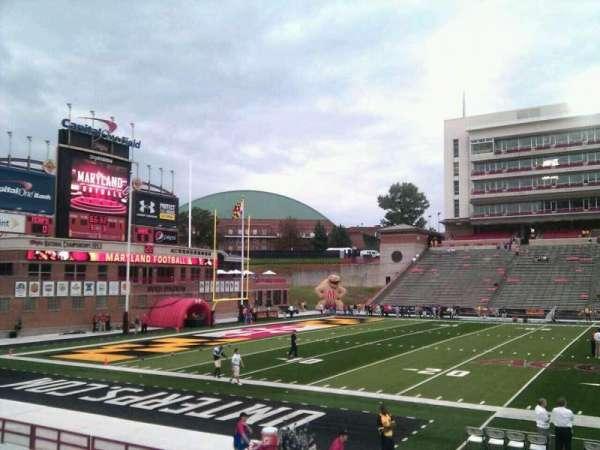 Maryland Stadium, secção: 4, fila: p, lugar: 12