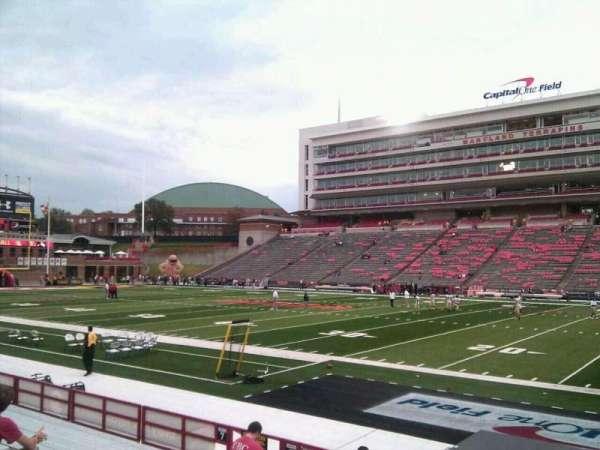 Maryland Stadium, secção: 8, fila: m, lugar: 14