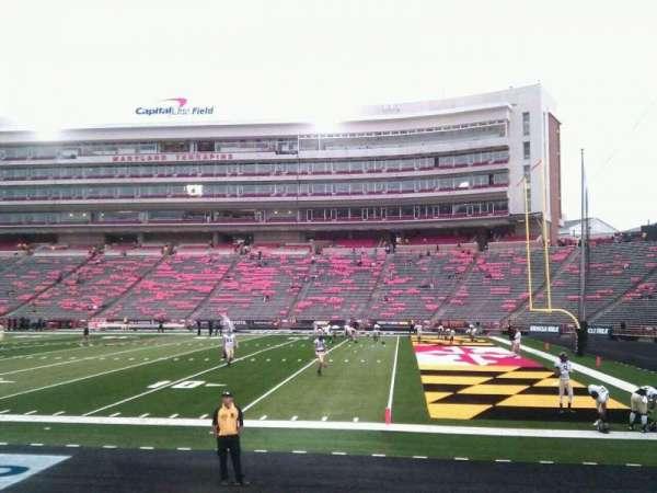 Maryland Stadium, secção: 9, fila: h, lugar: 12