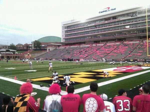 Maryland Stadium, secção: 11, fila: f, lugar: 13