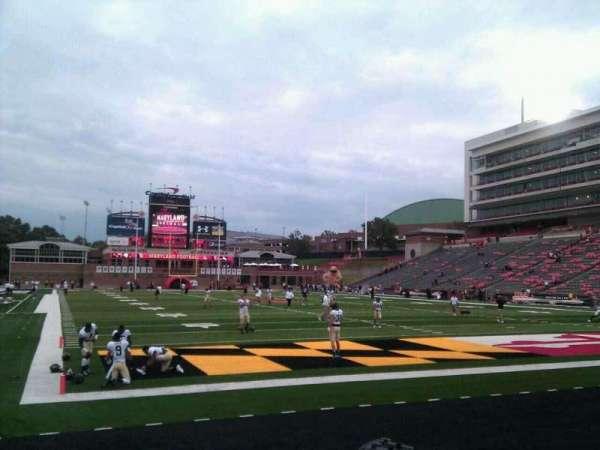 Maryland Stadium, secção: 12, fila: e, lugar: 15