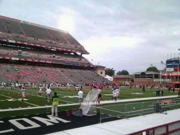 Maryland Stadium, secção: 22, fila: e, lugar: 12