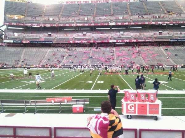 Maryland Stadium, secção: 24, fila: h, lugar: 22