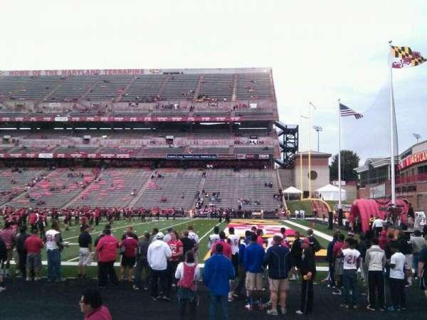 Maryland Stadium, secção: 28, fila: d, lugar: 25