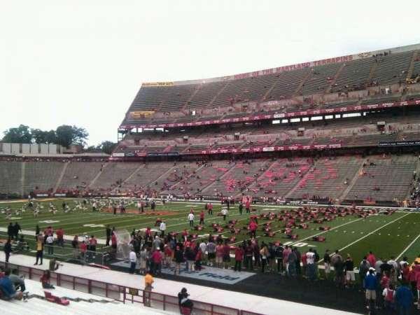 Maryland Stadium, secção: 28, fila: u, lugar: 30
