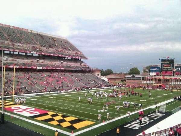 Maryland Stadium, secção: 19, fila: jj, lugar: 11