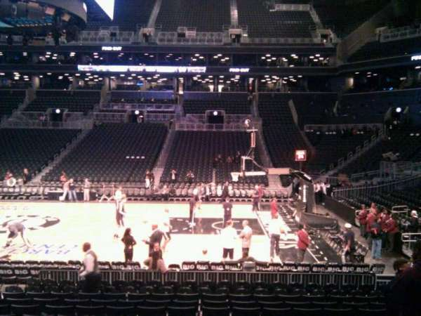 Barclays Center, secção: 7, fila: 12, lugar: 9