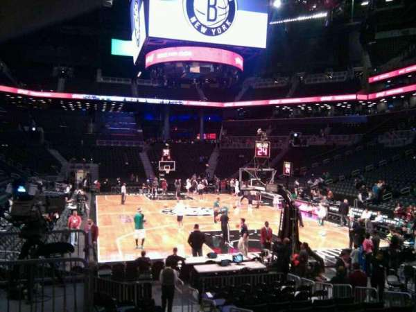 Barclays Center, secção: 17, fila: 11, lugar: 5