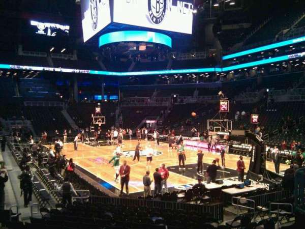 Barclays Center, secção: 20, fila: 11, lugar: 2