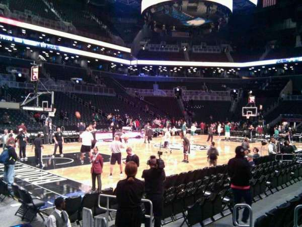 Barclays Center, secção: 28, fila: 5, lugar: 3