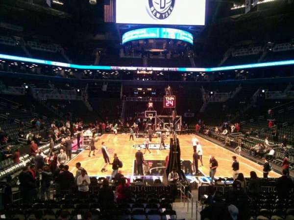 Barclays Center, secção: 1, fila: 11, lugar: 2