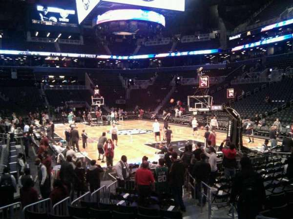 Barclays Center, secção: 3, fila: 3, lugar: 3
