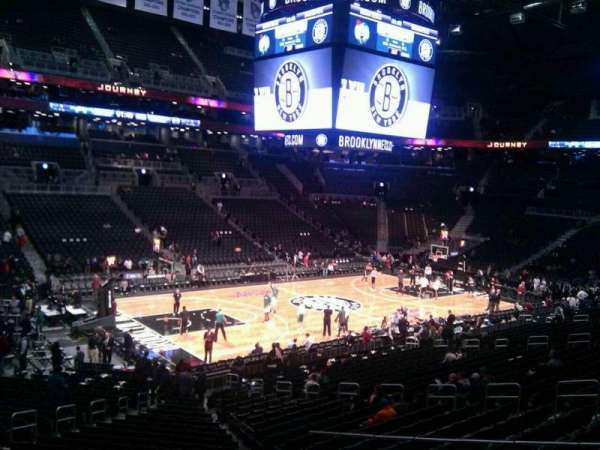 Barclays Center, secção: 111, fila: 5, lugar: 16