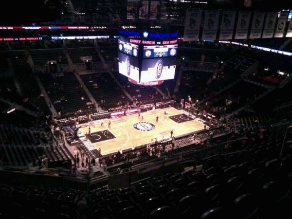 Barclays Center, secção: 227, fila: 15, lugar: 11