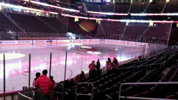Prudential Center, secção: 16, fila: 10, lugar: 4