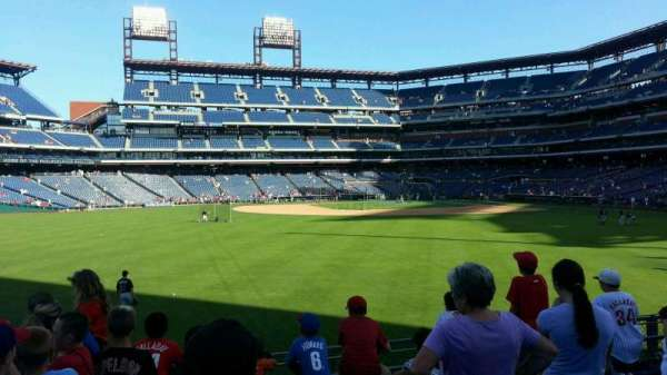 Citizens Bank Park, secção: 145, fila: 6, lugar: 22