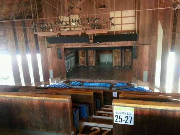 The Mann, secção: Balcony 300, fila: AAA, lugar: 300