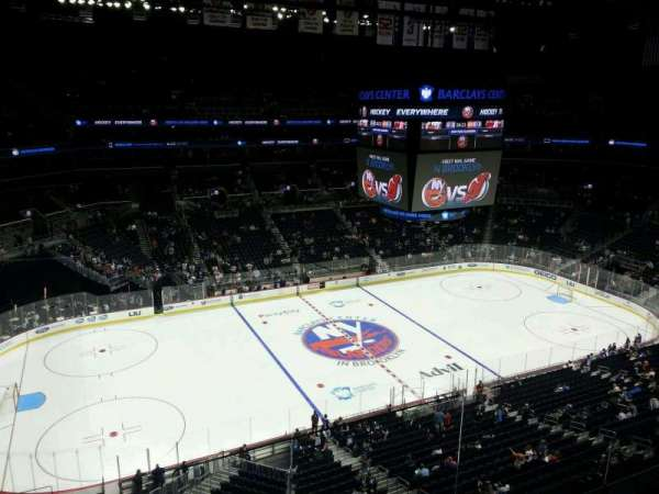 Barclays Center, secção: 227, fila: 1, lugar: 2